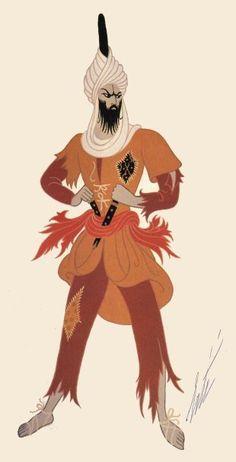 Costume danseur