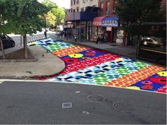 Division Street Triangle Public Art Contest Winner Announced Pavement Design, Urban Intervention, Street Installation, Pocket Park, Floor Decal, Street Painting, Murals Street Art, Street Furniture, Outdoor Art