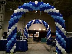 #Balloon Arch #STEWART's Baskets & Balloons www.reli-a-drop.com