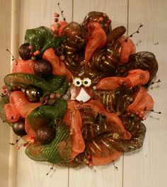 Another Owly Wreath