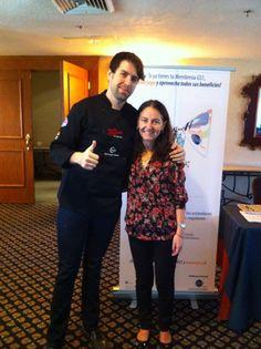 Con Ximena Céspedes ,gracias por tu platica sobre branding en medios de @GS1_Mx, cumplió con mis expectativas!!! Buena vibra!!! #chefcms #GS12014 #congreso #sonora #branding #redessociales #digitalización