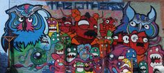 Fresques Par Nite Owl, Onedr, Reggie Warlock, Basiclee - Oakland (CA)