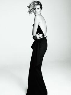 heidi klum editorial | Heidi Klum Tesh Photoshoot for Marie Claire US February 2013