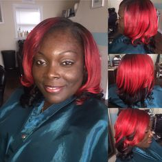Full head sew in with minimal leave out