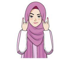 Gorgeous Hijab Girl 2 - Stiker LINE | LINE STORE