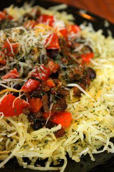 Spaghetti Squash Taco Salad Style