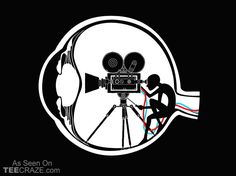 Vision Director T-Shirt - http://teecraze.com/vision-director-t-shirt/ -  Designed by flyingmouse365    #tshirt #tee #art #fashion #clothing #apparel