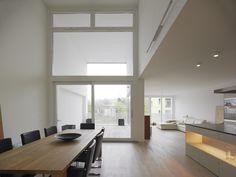 PILE UP® // Zwimpfer Partner | archiCentral interieur leefruimte vide duplex terras inpandig