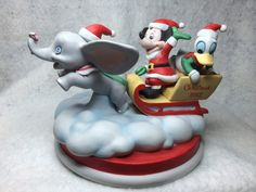 """The Disney Collection, Grolier, """"Fourth Edition, Christmas 1982"""" Original Figurine Designed By Grolier and The Walt Disney Artists mint on Etsy, $93.95"""