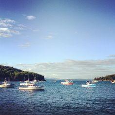 Bar Harbor Pier - Maine