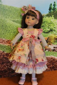 "Roses Roses Roses for 13"" Effner Little Darling by ALISEWN"