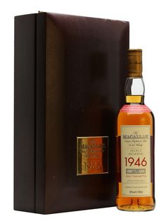 Macallan 1946 / 52 Year Old Scotch Whisky : The Whisky Exchange