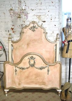 Painted Cottage Romantic French Bed by paintedcottages on Etsy