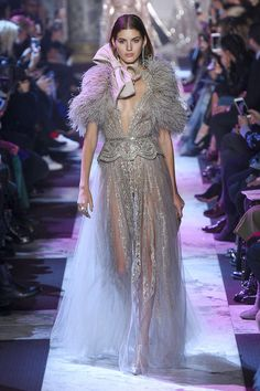 Elie Saab, Primavera/Estate 2018, Parigi, Haute Couture