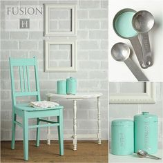 Pin this for later!  Fusion Mineral Paint delivers a matte finish with minimal prep and no top coat or waxing needed. #fusionmineralpaint #paintedfurniture
