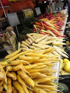 union square farmer's market, nyc
