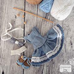Crochet 🧶 Doll 🧶Dress 👗 Crochet Doll Dress, Crochet Bikini, Dolls, Bikinis, Dresses, Fashion, Baby Dolls, Vestidos, Moda