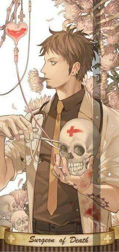 Surgeon Of Death - Trafalgar D. Water Law One piece Anime One Piece, One Piece Fanart, Manga Anime, Anime Art, Nico Robin, Photo Manga, Otaku, Funny Anime Pics, The Pirate King