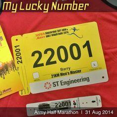 My Lucky Number. Race Bibs, Lucky Number, Marathon, Numbers, Army, Racing, Instagram Posts, Gi Joe, Running