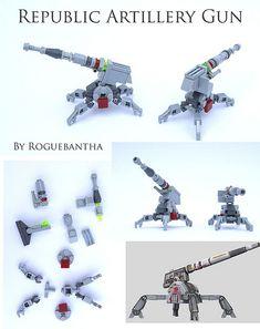 Repart   The Republic artillery gun as scene in the Clone Wa…   Flickr