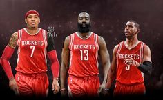 Carmelo Anthony is open to waiving his no-trade clause to join the Houston Rockets or Cleveland Cavaliers!  The arrival of Chris Paul to join MVP runner-up James Harden has catapulted the Rockets into contention for Anthony and established his interest in joining the Rockets sources said.  If this happens where will this Rockets team end up in the stacked West? A potencial super-team for sure!  -Riol13