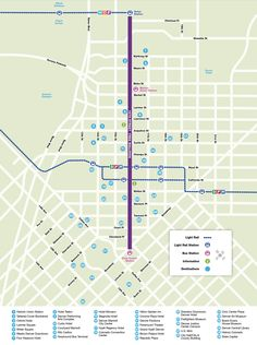 RTD 16th Street Free MallRide route map