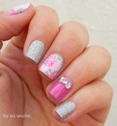 such a chic nail look #nails #nailart