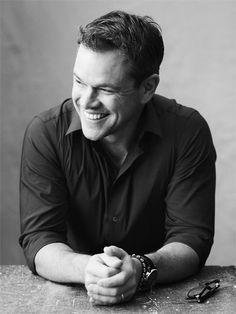 Matt Damon for Vanity Fair Italia