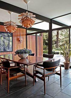 floor.  Luxurious dining room