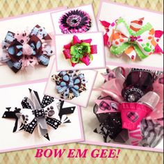 #bows #kids #hair #bowemgee  #facebook #likeourpage