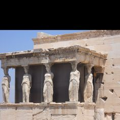 Temple of Athena, Athens, Greece. This is one of the places I want to visit.