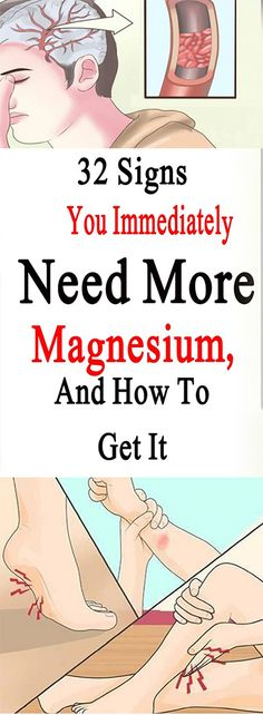 32 Signs You Immediately Need More Magnesium, And How To Get It – Let's Tallk