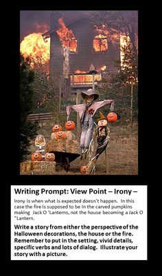Writing Prompt: Irony