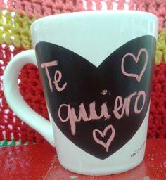 Tazas Pizarra De Cerámica, Se Escriben Con Tiza - $ 59,00 en MercadoLibre