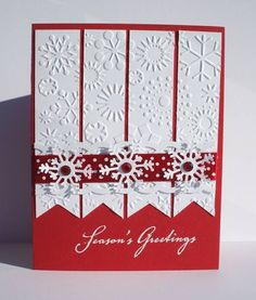 Pretty Little Snowflakes by ladybug91743 - Cards and Paper Crafts at Splitcoaststampers