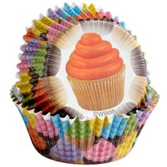 Cupcakes Foil Cupcake Liners - No Fade Cupcake Liners 415-2150