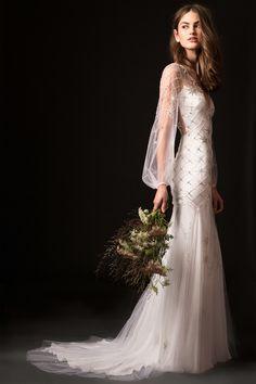5c11fb0f37 Temperley Fall 2019 Wedding Dress Collection
