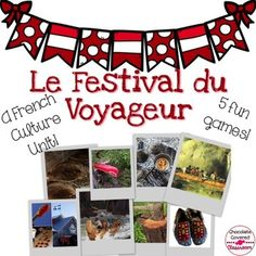 Le Festival du Voyageur- French Vocabulary GamesThis product includes 5 different games that you can use as stations or centres in your French classroom. These games are a great way to practice and reinforce vocabulary associated with Le Festival du Voyageur.