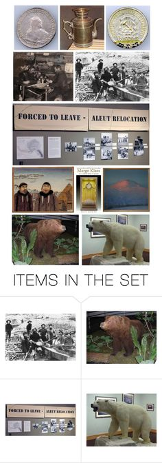 """With More Than 32,000 Cataloged Objects, the Museum Features Collections of Historic Artifacts, Works of Art, (Including Works by Contemporary Artists), Natural History Specimens & Alaska Native Material"" by maggie-johnston ❤ liked on Polyvore featuring art and contemporary"