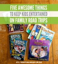 five awesome things to keep kids entertained on family road trips