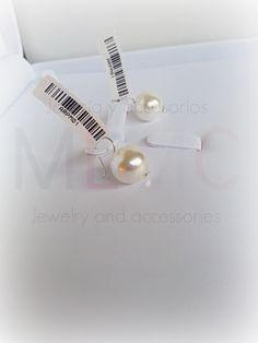 Compra aquí / Shop here: http://mlmcjewelry.tumblr.com/comprabuy  #earrings #pearl #pearls #jewelry #shoponline #jewels #accessories #jewelrylove #jewelryoftheday #bijouterie