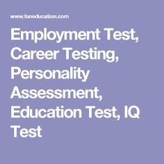 Career Test Free Best 10 Awesome Free Career Selfassessment Tools On The Internet  Free .