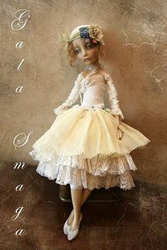 Art Doll by Gala Smaga.