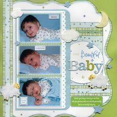 Our Beautiful Baby - Scrapbook.com