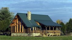 Log Home Design Plan and Kits for Fairview