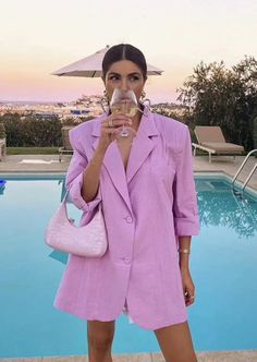Spring Summer Fashion, Spring Outfits, Autumn Fashion, Paris Fashion, Mode Outfits, Fashion Outfits, Womens Fashion, Fashion Trends, Blazer Fashion