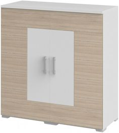 Sideboard weiss/ Dakota Eiche Woody 129-00241