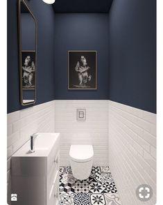 Diy bathroom ideas 607986018429474028 - Top 60 Best Half Bath Ideas – Unique Bathroom Designs Source by White Bathroom Tiles, Small Toilet Room, Diy Bathroom, Bathroom Colors, Bathroom Decor, Trendy Bathroom, Diy Bathroom Remodel, Downstairs Toilet, Toilet Design