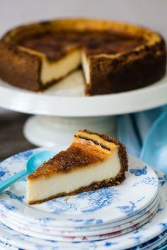 Tarta de queso con creme brulée by Loleta.es