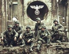 "German Waffen SS soldiers, called ""The finest most dedicated soldiers the Earth has ever seen"""